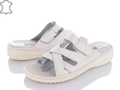 Шлепанцы кожа Распродажа летней обуви