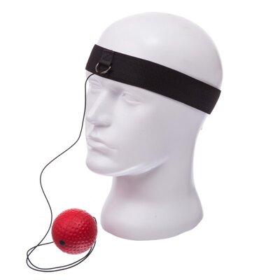 Тренажер для бокса пневмотренажер Fight Ball 0374B теннисный мяч на резинке боксерский