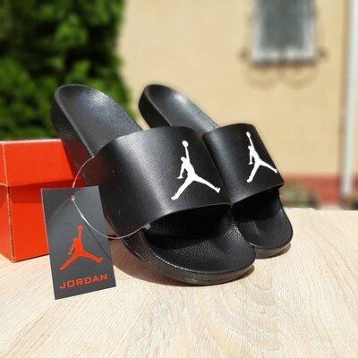 Шлепанцы мужские Jordan черные