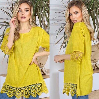Женская летняя блузка туника хлопок свободная блузка туника женские летние рубашки свободные блузки