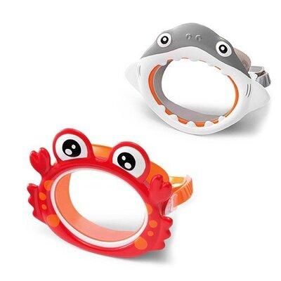 Детская маска для плавания Intex 55915 в виде морских животных