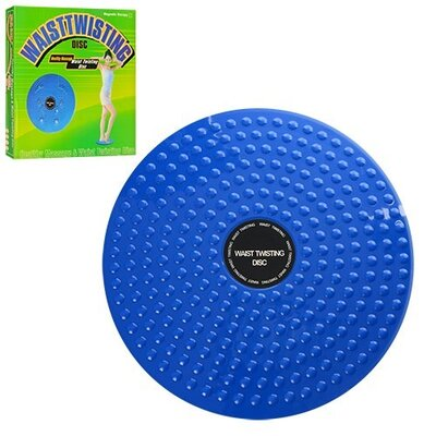 Напольный балансировочный диск Profi MS 0698 2в1 тренажер, массажер 24,5 см