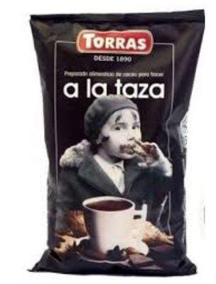 Torras Шоколадный Какао-Напиток Без Глютена, Без Сахара Горячий шоколад Torras A La Taza 1кг Какао