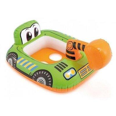 Детский надувной плавательный круг для плавания детей с ножками игрушка экскаватор от года Intex 595