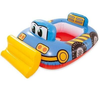 Детский надувной плавательный круг для плавания детей с ножками игрушка груовик от года Intex 59586
