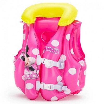Продано: Детский надувной жилет Bestway Минни маус розовый от 3-6 лет