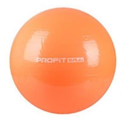 Мяч для фитнеса Фитбол Profit 65 см усиленный 0382 Orange
