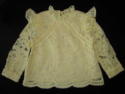 шикарная блуза River Island 6-9 мес реально как новая