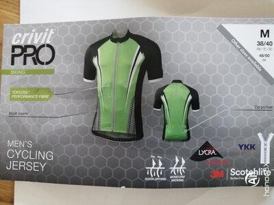 Функциональная вело кофта футболка джерси Германия crivit размер M /L
