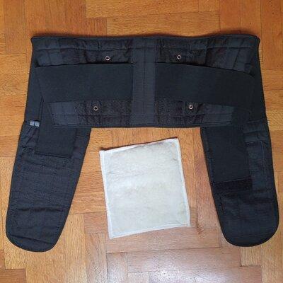 Продано: Пояс от радикулита для поясницы спины корсет ортопедический на липучках с косточками ребрами XXXL
