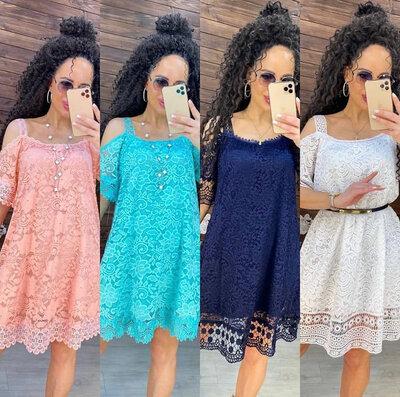 Женское летнее платье свободного кроя жо 122
