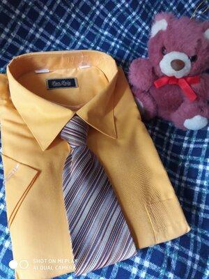 Рубашка желток р.38