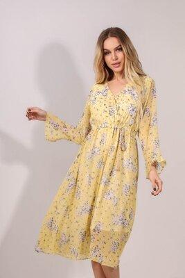 Платье модель 3630-5 Размер 42-46 универсал рукав 52 см длина платья 109 см длина подкладки 90 см