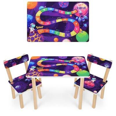 детский стол и 2 стула 501 colour