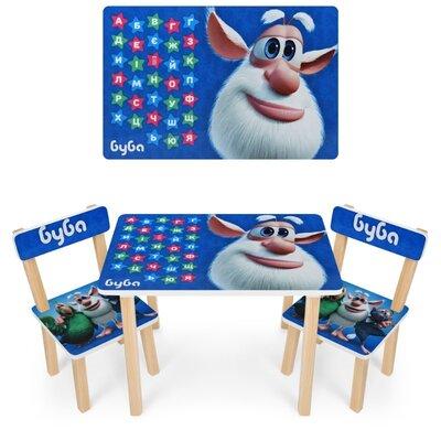 детский стол и 2 стула 501 буба