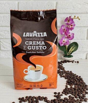 Продано: Кофе в зернах Lavazza Crema e Gusto Italiana 1 кг