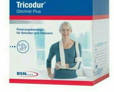 1241 Плечевой бандаж для руки Tricodur размер М белый Германия