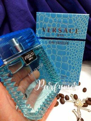 Versace eau Fraiche 100 мл мужская туалетная вода, Версаче фреш голубой , парфюм, чоловічий парфум