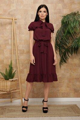 Шикарное летнее платье Сапфир , цвета