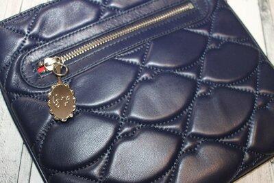 Кожаная сумочка lulu guinness