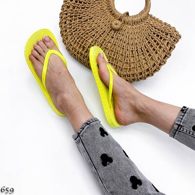 Женские чёрные белые бирюзовые желтые шлепки шлёпанцы вьетнамки