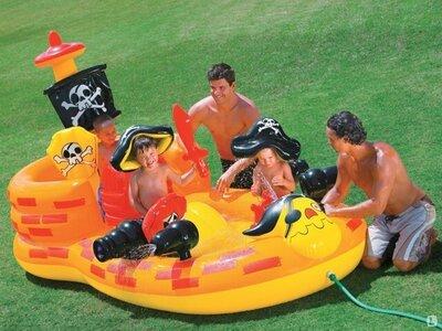 Игровой надувной центр Пиратский корабль