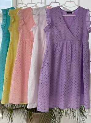 Платье прошва 5 цветов нат.ткань 550 грн