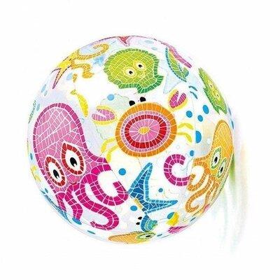 Надувной мяч Intex 59050 Осьминожки диаметр 61 см Lively Print Balls Разноцветный
