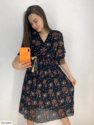 Платье FN-6524 Размер 42-46 Рукав 52 см Длина платья 109 см Длина подкладки 90 см Ши