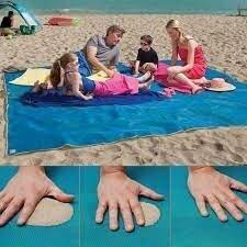 Продано: коврик пляжный покрывало анти песок 200 150 см