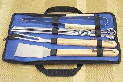 Продано: Барбекю-Набор , для похода , для гриля , гриль, шампура, сумка