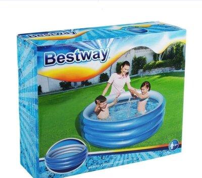 Басейн bestway 445литров для детей круглый