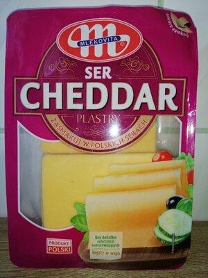 Сыр Mlekovita Чеддер 400 грамм