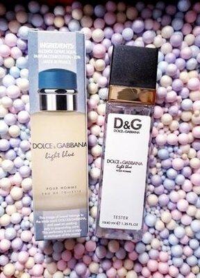 Light blue мужской тестер 40мл, парфюм, духи, туалетная вода, парфуми