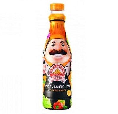 Соус Соевый Острый Тайский Кулинарный Sauce Golden Mountain 700 мл