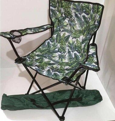 Кресло складное для пикника и рыбалки Паук-Листья 6004