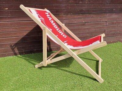 Шезлонг кресло складной. Лежак пляжный, садовый.