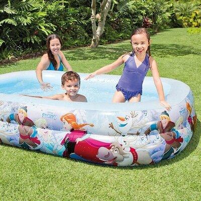 Детский надувной бассейн intex 58469 холодное сердце