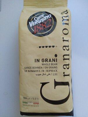 Кофе в зернах Vergnano gran aroma 1кг, Италия