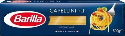 Тончайшие итальянские макароны Barilla Capellini n.1 паутинка Спагетти 500 г
