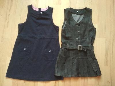 школьный сарафан 122-128 см, школьный сарафан 6-7 лет,школьная одежда
