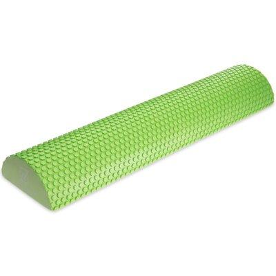 Роллер для занятий йогой массажный 2571 полуцилиндр для йоги длина 60см
