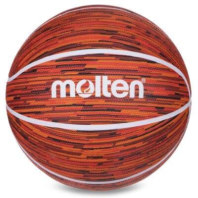 Мяч баскетбольный резиновый Molten 7 B7F1600 размер 7 Orange-Red