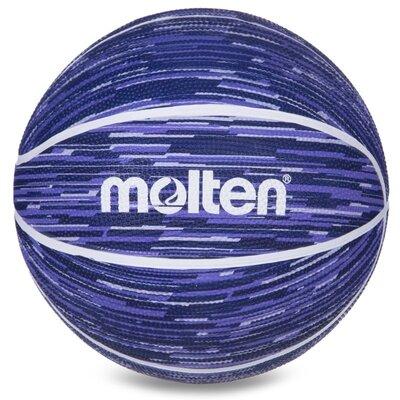Мяч баскетбольный резиновый Molten 7 B7F1600 размер 7 Blue