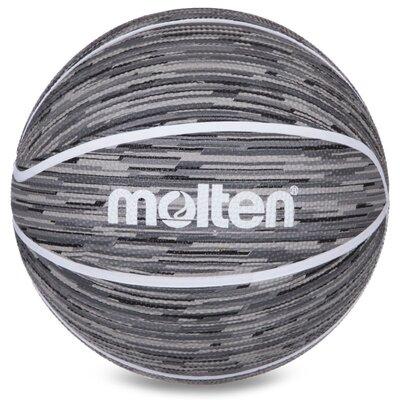 Мяч баскетбольный резиновый Molten 7 B7F1600 размер 7 Grey
