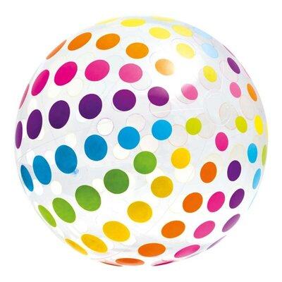Надувной пляжный мяч 59065 с ремкомплектом