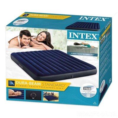 Продано: Надувной двухместный матрас Intex 64755, 183x203x25 см