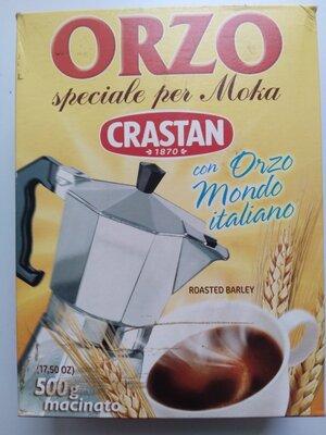 Ячменный напиток кофе Orzo Crastan 500г молотый Италия