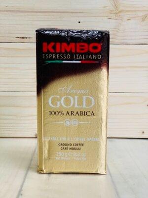 Кофе Kimbo Espresso Aroma gold молотый 250 г., Италия