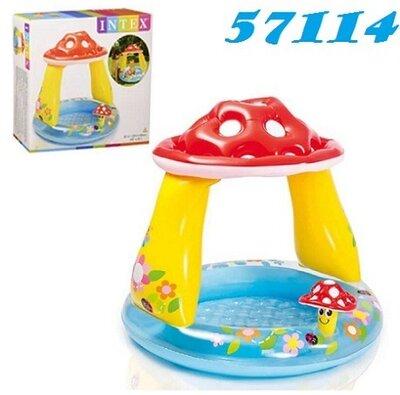 Intex 57114 Детский бассейн Грибочек 102х89 см